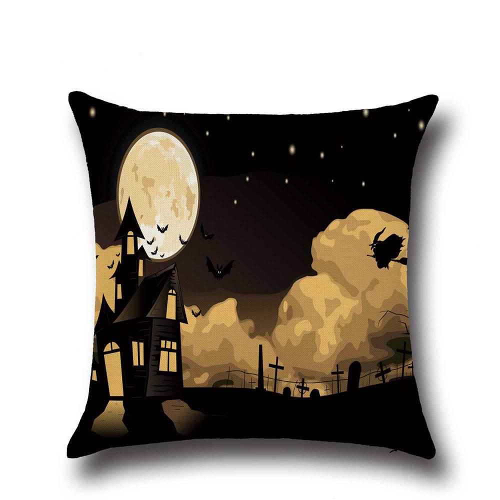 baumwollgewebe quadrat halloween schmuck verschiedene. Black Bedroom Furniture Sets. Home Design Ideas