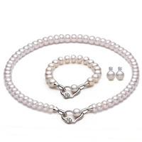 0e809b5d5 Conjunto de joyas perla agua dulce China mayorista - abalorios Joya ...